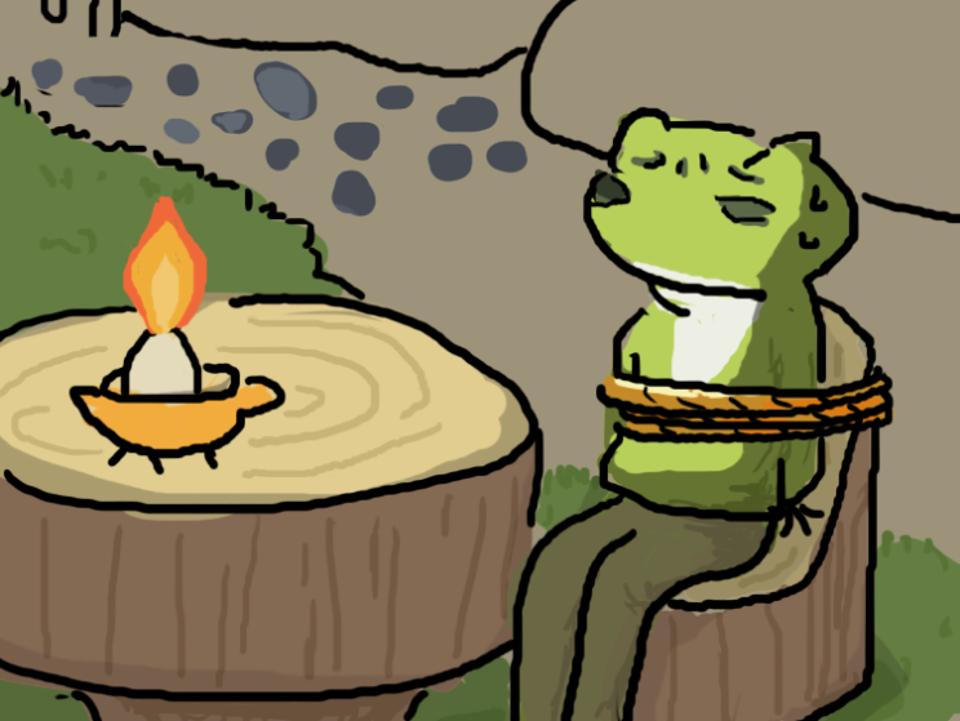  厭世繪 當君懷歸日 是妾斷腸時──小蛙兒你怎麼還不回家?
