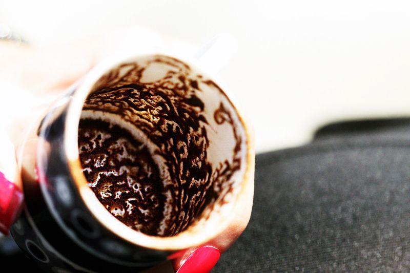 |土裡吐氣|土耳其咖啡占卜究竟怎麼回事?一個外國人的觀察